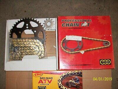Non O-Ring 88L Chain /& Sprocket Set 12//42 fits 1995-1999 Polaris 250 Trail Boss