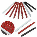 Jigsaw Blades Assortment Set for T Shank Jig Saw Metal Plastic Wood 10pcs