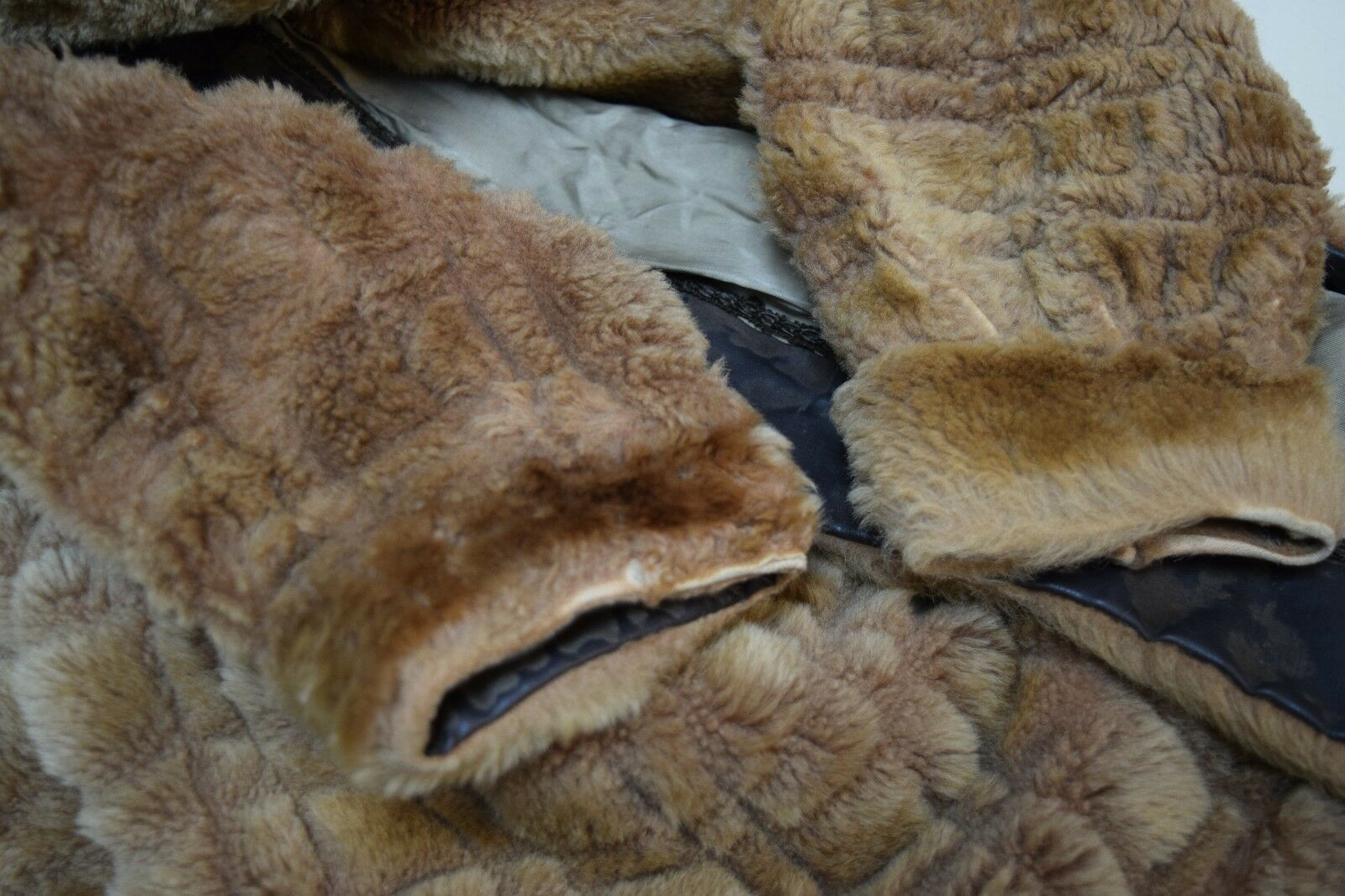 VINTAGE 1930s/40s Sheared Fur Mouton Skating Skii… - image 9