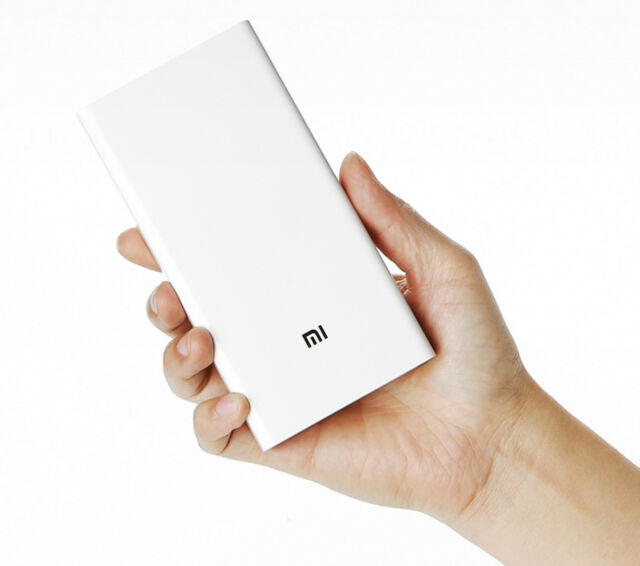 Refurbished Xiaomi Mi Portable Charger 20000 mAh Dual USB Fast Charge Power Bank