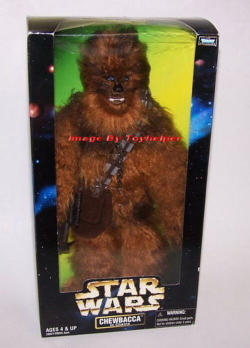 Star Wars Chewbacca in Chains 12  Poseable Action Figure NIB Kenner 1998