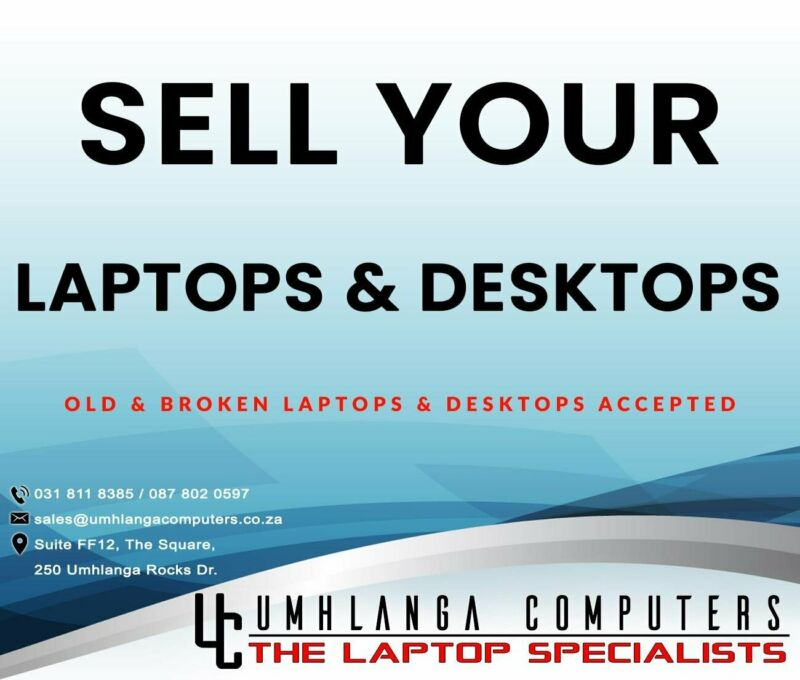 Sell Your Computer Today !