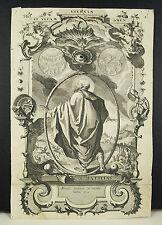 Saint Matthias Mathias le jeu the game annos ceternos gravure religieuse c1600