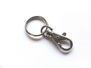 50 Schlüsselanhänger mit Namensschild Schlüssel Schlüsselring