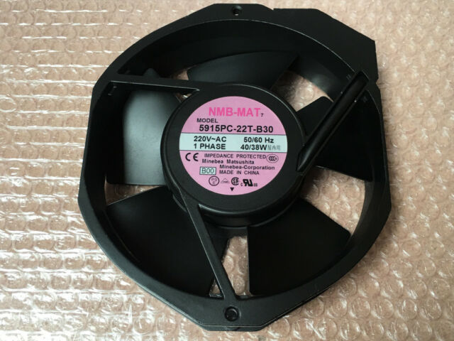 For NMB 5915PC-22T-B30 fan 172*38mm AC 220V 50/60Hz 38/40W