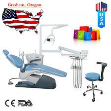 Computer Controlled Dental Unit Chair Teeth Treatment Hard Leather Tj2688 A1 Fda