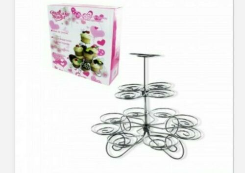 Decorative Cupcake Stand Birthday Buffet Party Tier Holder Tower for 13 Cupcakes