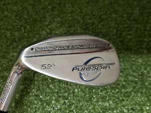 PureSpin-Diamond-Face-52-A-Wedge-MLH-Left-handed-Wedge-Flex-Steel-LS1839-Gap