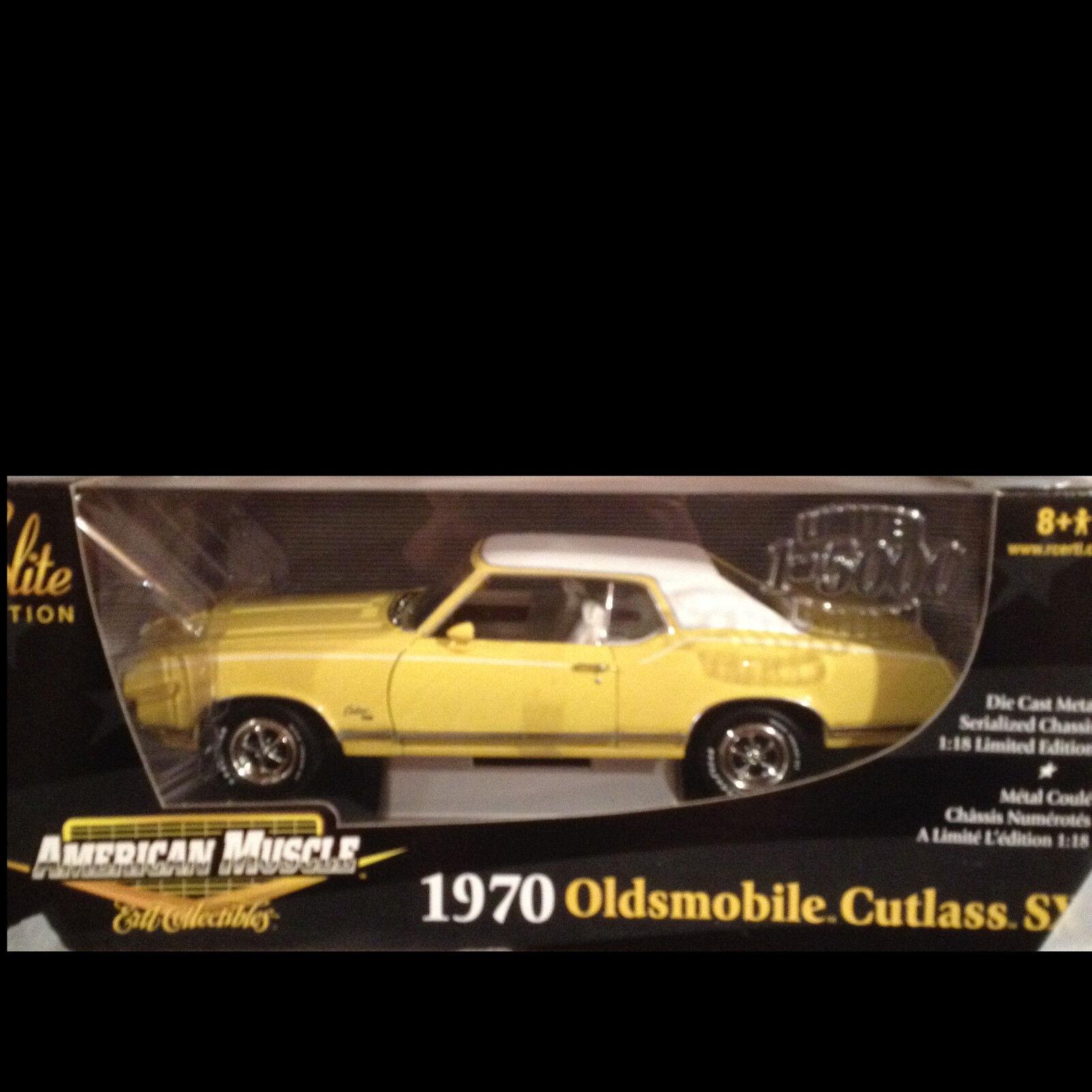 1970 Cutlass SX Sebring giallo Oldsmobile 1 18 Ertl American Muscle 33770