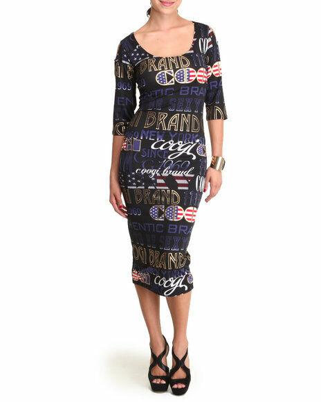 COOGI Woherren schwarz Dress Cold Cut out Shoulder Plus Größe 3X Extra Large NEW 3XL