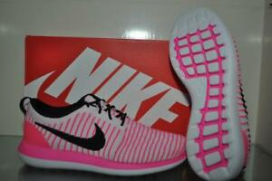 Nike Roshe Two Flyknit Girls Grade School Running Shoes 844620 600 ... d20b15ea1