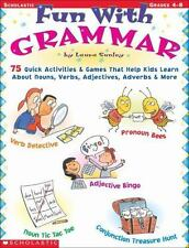 Fun with Grammar: 75 Quick Activities & Games that Help kids Learn About Nouns,