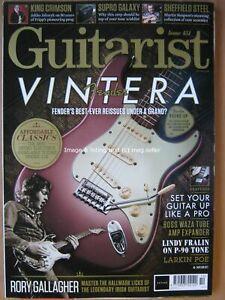 Guitarist-October-2019-Fender-Vintera-Rory-Gallagher-King-Crimson-Martin-Simpson