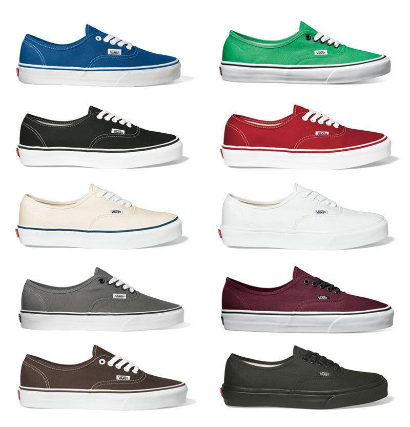 Vans - Authentic - Klassiker - Sneaker Skate Schuhe - - NEU Größen: 37 - - 47 4783ee