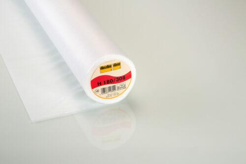 0,5m Vlieseline Original Freudenberg fixierbare Vlieseinlage H180 weiß