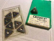 8pcs 1393 VNMX 331 TC30 CERATIP CERMET Inserts
