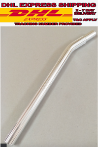 BMX-HARO-25-4mm-Bicycle-SEAT-POST-Layback-Alloy-Old-School-Skyway-SILVER-NEW