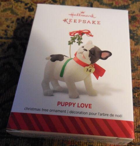 2014 Hallmark Ornament PUPPY LOVE #24 in Puppy Love series NEW IN BOX