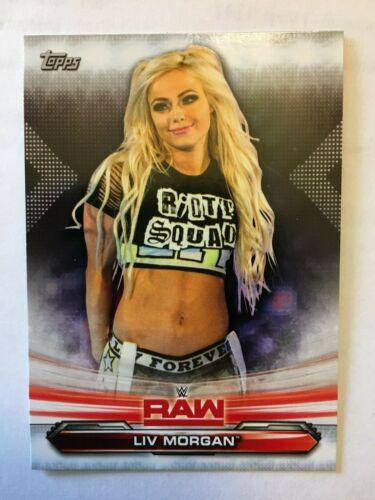 2019 Topps WWE Raw Liv Morgan