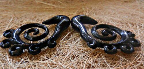 Spiral Ear Gauge Tribal Plug Carved Handmade Expander Piercing Buffalo Horn Bone