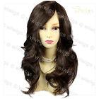 Wiwigs Wonderful Long Dark Coffee Brown Wavy Skin Top Heat Resistant Ladies Wig
