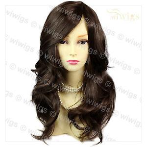 Wonderful-wavy-Long-Dark-Coffee-Brown-Curly-Ladies-Wigs-skin-top-Hair-WIWIGS-UK