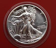 1989 AMERICAN FINE SILVER 1oz LIBERTY EAGLE $1 ONE DOLLAR COIN
