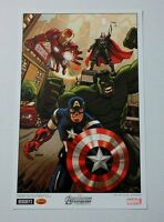 Marvel Comics 17x11 Hulk/Thor/Iron Man/Captain America poster! Avengers poster 4