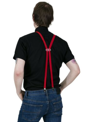 Braces Suspenders Skin Mod Punk 11 Colours Relco Narrow .65 inch 1.7cm