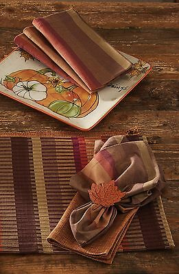 Napkin - Falling for Fall by Park Designs - Autumn Thanksgiving