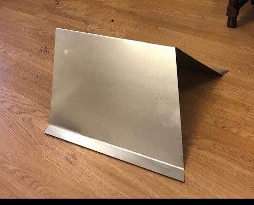 banger roof fin number board Plain Galv Steel Sloped
