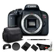 Canon EOS Rebel T7i Digital SLR Camera (1894C001) Bundle