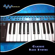 Beefy Synth Bass Analog Sample Sound Library LOGIC EXS24 HALION KONTAKT REASON