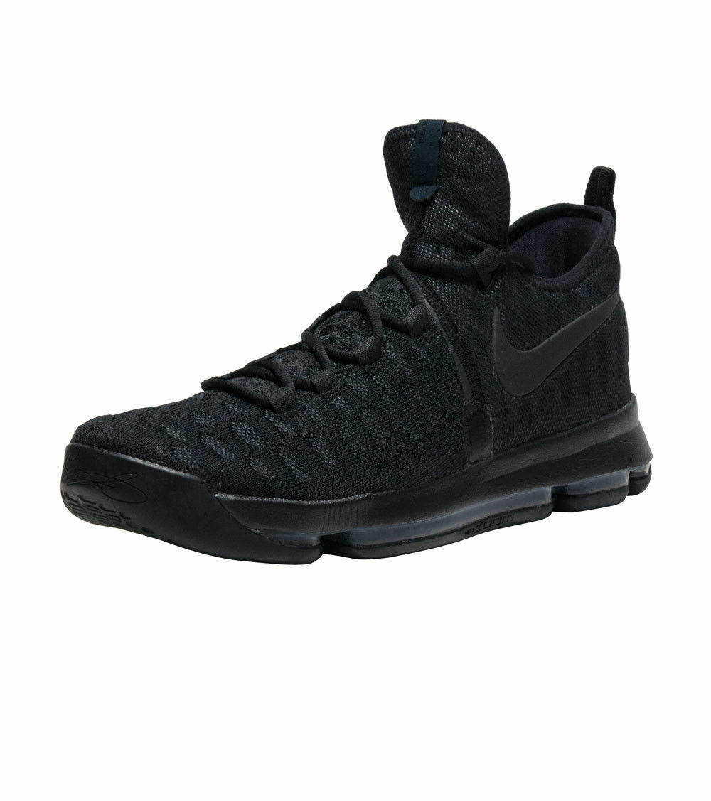 New Nike Men's KD 9  Basketball Shoes Black-Anthracite 843392-001 *