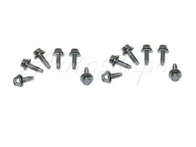 12 FOR DODGE PICKUP RAM 1500 2013-2018 FRONT BUMPER BRACKET BOLT HEX HEAD QTY