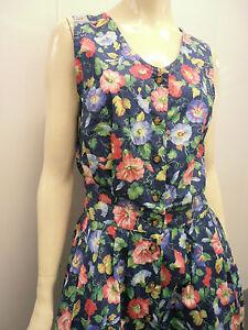 fa356b9303dd 90S DRESS FLORAL Hawaii flowers soft cotton light vintage w 27 90s ...