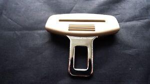 Fiat crème ceinture alarme boucle clé insert plug clip de sécurité fermoir bouchon