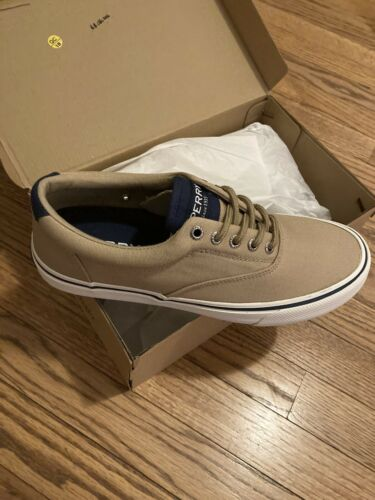 NEW Sperry Top-Sider Mens Striper II CVO Chino Salt Washed Shoes Size 8.5