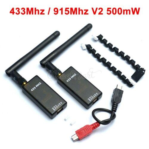 V2 3DR Radio 433 915 Telemetry 500mw 433MHZ 915MHZ Data System for APM2.6