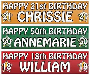 2-PERSONALISED-BIRTHDAY-BANNER-ANY-NAME-3ft-36-034-x-11-034-1st-18th-21st-30th