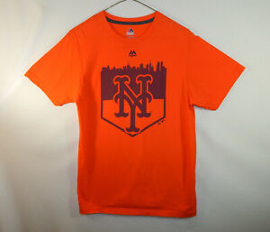 618a4702 New York Mets MLB Baseball Majestic Threads T Shirt Top Size Mens ...