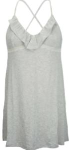 Pretty Super Soft Light Grey Modal Jersey Chemise//Nightie   Size Small 10