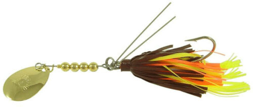 Hildebrandt 31//2SSG-CRA Snagless Sally 1//4oz Gold//Crawdad Bass Anglers Lure