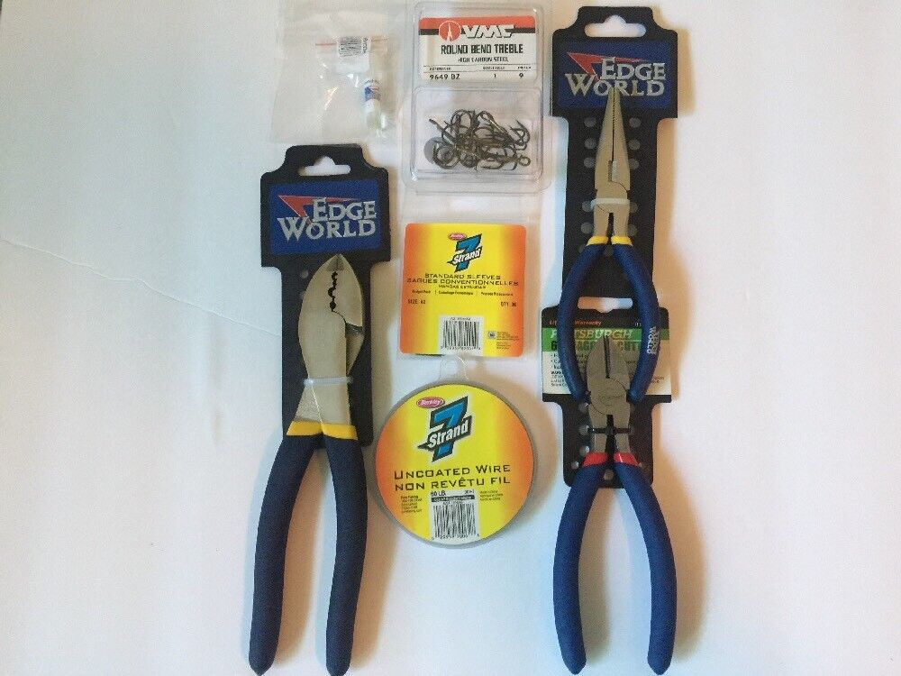 Complete Swimbait  Stinger Rigging And Repairing Kit For Huddleston Crimpers Ect