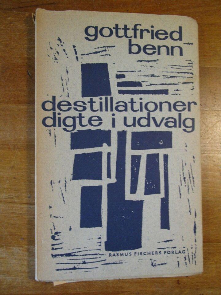 destillationer. digte i udvalg (med avisanmeldels),