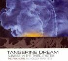 Sunrise In The Third System (The Pink Years Anthology 1970-1973) by Tangerine Dream (CD, Mar-2011, Esoteric Recordings)