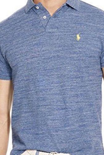 Polo Ralph Lauren Mens Classic-Fit Mesh Short sleeve Polo T-Shirt  NWT