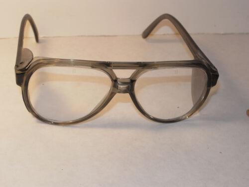 UNUSED VTG 1989 BOUTON Z87 CLEAR SAFETY GLASSES SIDE SHIELDS NOS USA PLASTIC