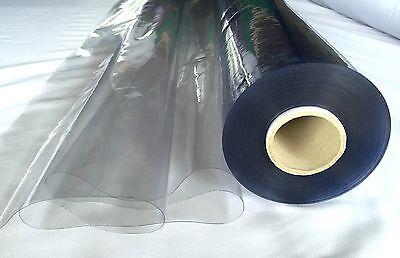 CRYSTAL CLEAR PVC VINYL TableCloth Waterproof 137wide Best Price 3.45 Per Metre