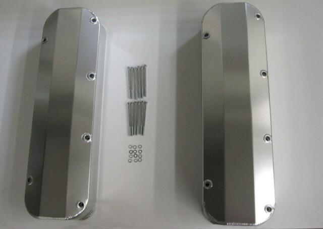 Big Block Ford ANODIZED Tall Fabricated Valve Covers Long Bolt 383-429-460 BBF